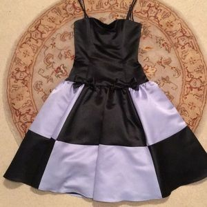 🖤💙💜 ALICE IN WONDER LAND THEMED DRESS 👗💜💙💜